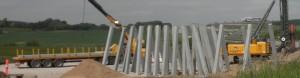I øjeblikket er letbaneselskabet ved at lægge sidste hånd på byggeriet af broer over djurslandsmotorvejen og Søftenvej, hvor letbanens tog skal køre.