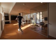 Der er sket en kraftig forbedring af Aarhus Universitets studiemiljø på Moesgård Museum. Foto: Aarhus Universitet.