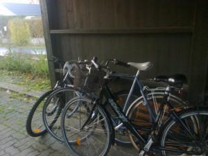 Det bliver om kort tid muligt at cykle på cykelsti hele vejen, hvis man vælger at køre på cykel fra Hornslet til Aarhus - eller omvendt. Foto: Aarhusidag.