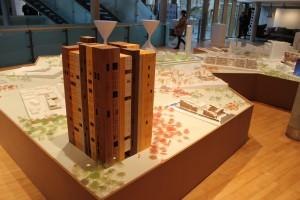 En udstilling om byplanlægning i Aarhus er åbnet på den danske ambassade i Berlin. Foto: Arkitektskolen Aarhus