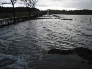 Aarhus Kommune holder øje med vandstanden i bugten i løbet af dagen. Foto: Aarhus Kommune.