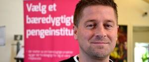 Brian Enevoldsen, ny leder af Folkesparekassen i Aarhus. Foto: folkesparekassen.