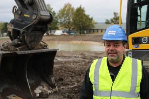 Projektchef Tommy Thuesen står i spidsen for arbejdet med flere af de små klimatilpasningsprojekter. Foto: Frank Helbo