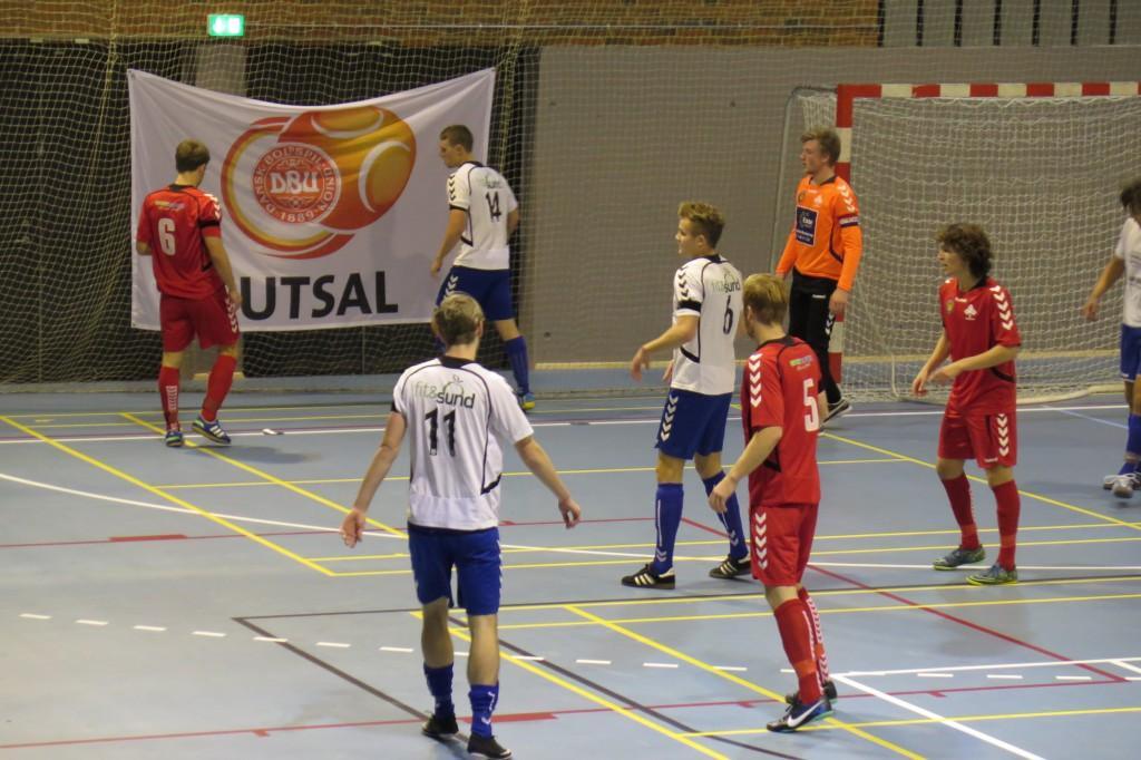 Så er der igen futsal i Lystrup Idrætscenter. Foto: Lystrup Futsal.