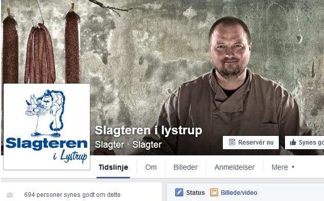 Kim Mølgaard skrev selv om lukningen af butikken på sin facebookside fredag formiddag.